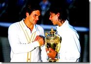 Nadal, Federer - Wimbledon 2008