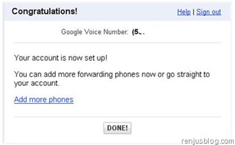 verified google voice