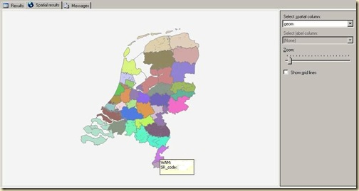 NL Map - Aggregated to sales region