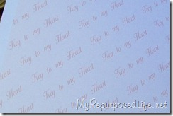watermarked paper