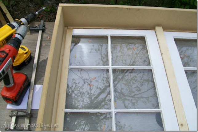 design the box to fit the windows