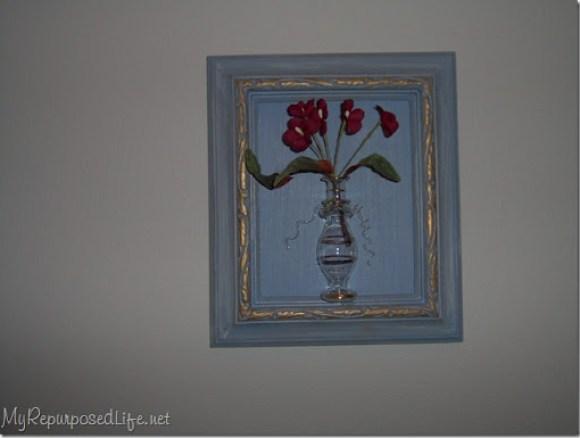picture framed bottle