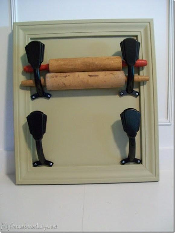 rolling pin display rack