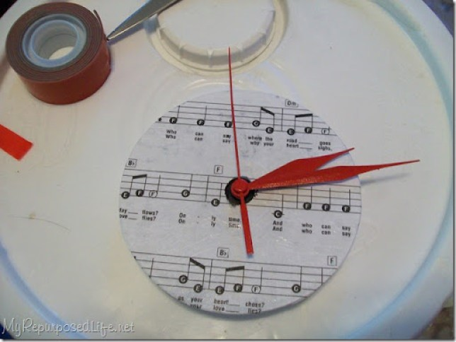 diy clock hands