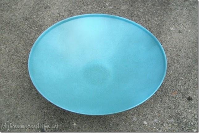 pot lid for a birdbath
