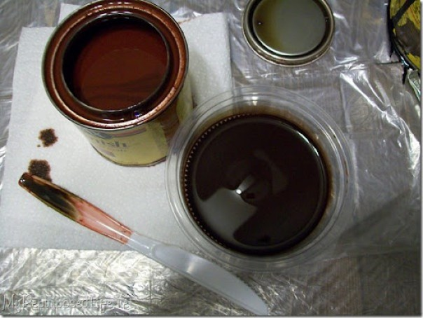 mixing stain for custom color