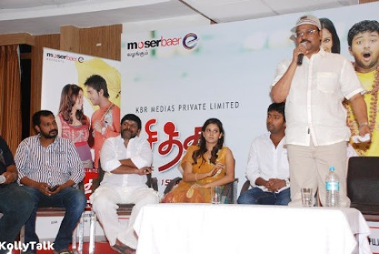 Bhayaraj speaks at Siddhu Plus 2 Press Meet