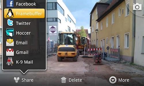 Send to Framebuffer screenshot 0