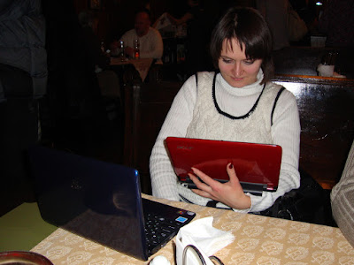 Читаем меню ресторана У Хромого Пола через интернет прямо с сайта :)