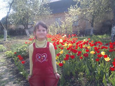 В селе Пуховка на 1е мая 2010 года