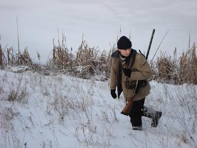 Охотнег Мыкола с бракваным ружьем :)