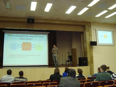 Презентация ClienteQ на Startup Crash Test в Киеве