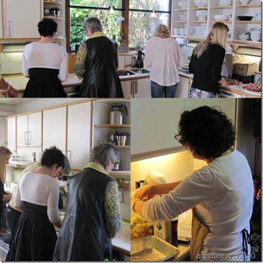 kvinderne i køkkenet