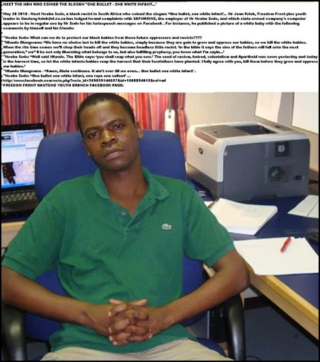 AntiAfrikanerHatespeech_NCEBA SODO_ MAY252010 KILL THE WHITE BABIES