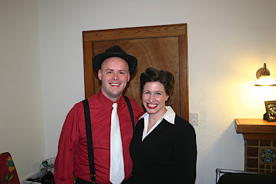 Adam and Jessica 40s style
