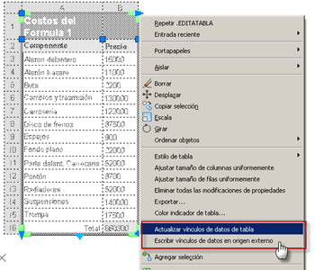 Cómo insertar una tabla de Excel en AutoCAD 5