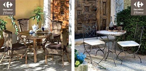 Muebles de jard n en carrefour for Mesas de jardin en carrefour