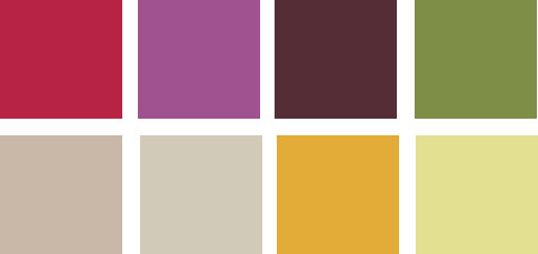 los colores de la decoracion otoño invierno 2011