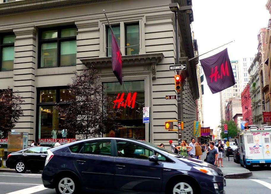 Fachada da H&M