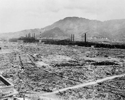 NAGASAKI DESTRUCTION 1945