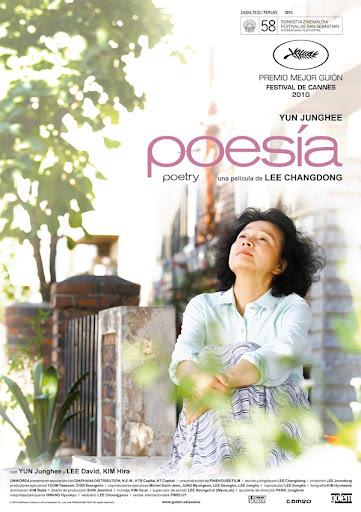 Poetry (shi, poesia) film di Lee Changdong, locandina