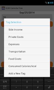 SUM Calendar Free screenshot 2