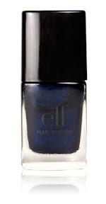 elf cosmetics spring nail polish in dark navy
