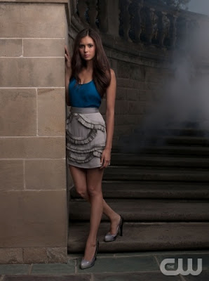 Hair styling tips from The Vampire Diaries TV Show - Nina Dobrev as Elena