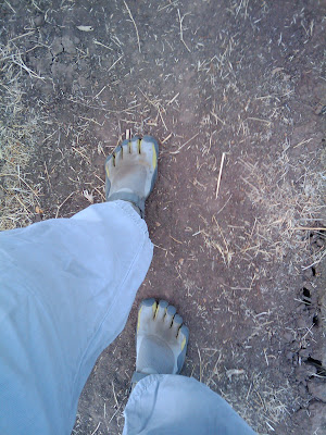 Hiking in the Vibram Five Fingers