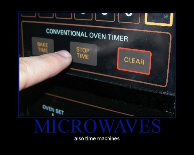 microwaves motivational poster