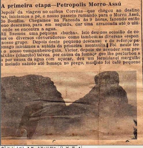 """Petrópolis ao Morro """"Assu"""""""