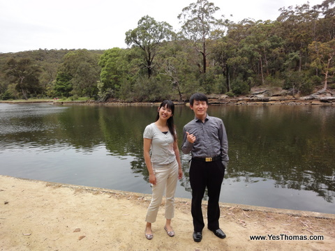 湖邊可以輕鬆漫步、野餐