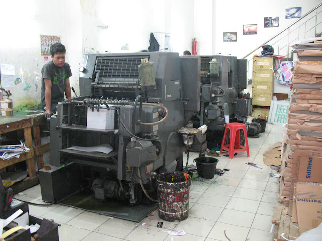 Mesin Cetak GTO 52 Cobra 2 Warna