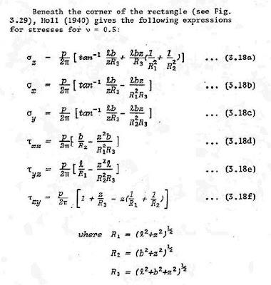ecuaciones de Holl, geotecnia, mecánica de suelos, soil mechanics