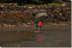 j and p at low tide