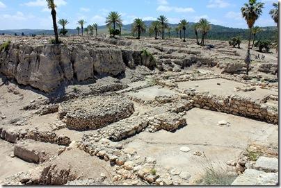 The sacred area and sacrificial altar, Megiddo ruins
