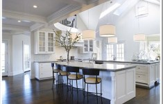 Crazy Double Island Kitchen That Are Sparkling With Elegance