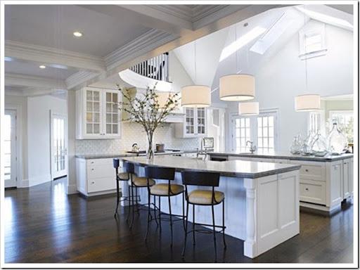 Desire Decorate Kitchens Double Islands