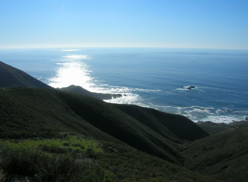 Coastline from Rocky Ridge