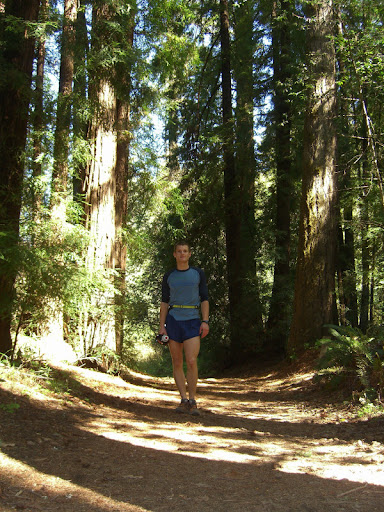 Me amongst redwoods