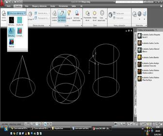 Crear objetos en 3D en autocad