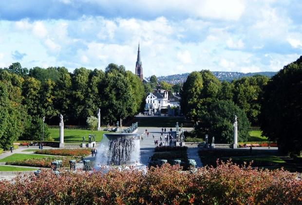 Un día en Oslo. Parque Vigeland