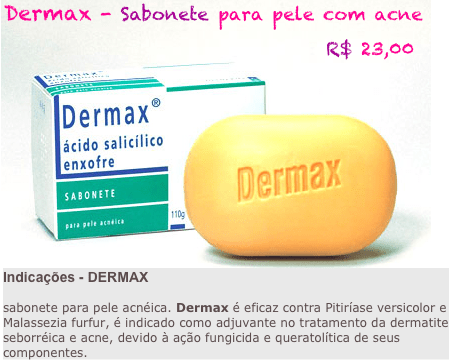 dermax - Dermax - Sabonete para pele com acne