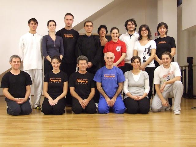 Foto di gruppo con la maestra Carmela Filosa