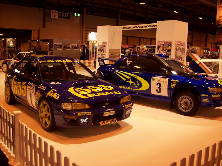 Suburu World Rally cars