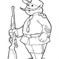 Dibujos De Soldados Para Colorear E Imprimir