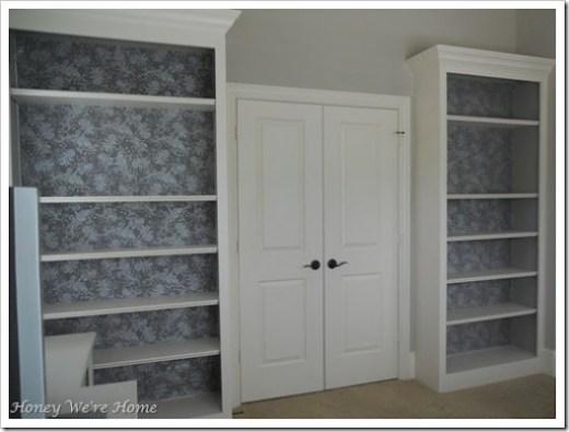 Fabric Bookcase finish 008