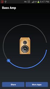 Bass Amp - Bass Booster screenshot 0