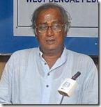 Union Minister of State for Urban Development Saugata Roy