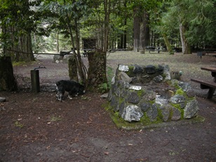 these old campfire ovens are in the picnic day area